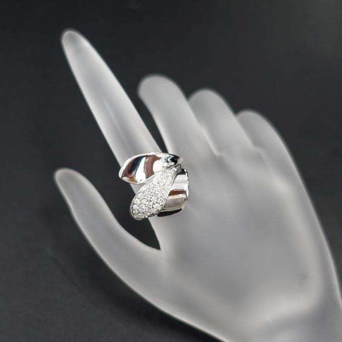 【SH58120】ジョルジオ ヴィスコンティ ダイヤモンド リング 0.47ct K18 ホワイトゴールド GIORGIO VISCONTI【中古】|sht-ys|07