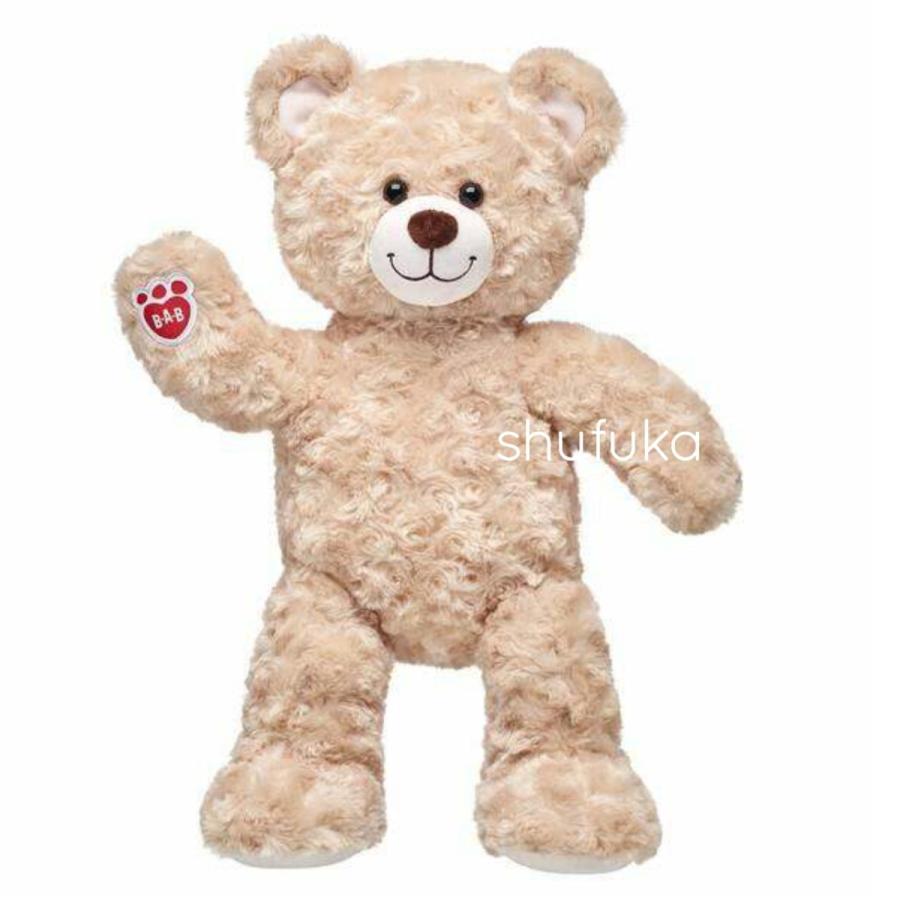ビルドアベア ハッピーハグ テディベア ぬいぐるみ クマ 40cm クリーム 出生証明書付き ライトブラウン くま Happy Hugs Teddy Build A Bear|shu-fu-ka|02