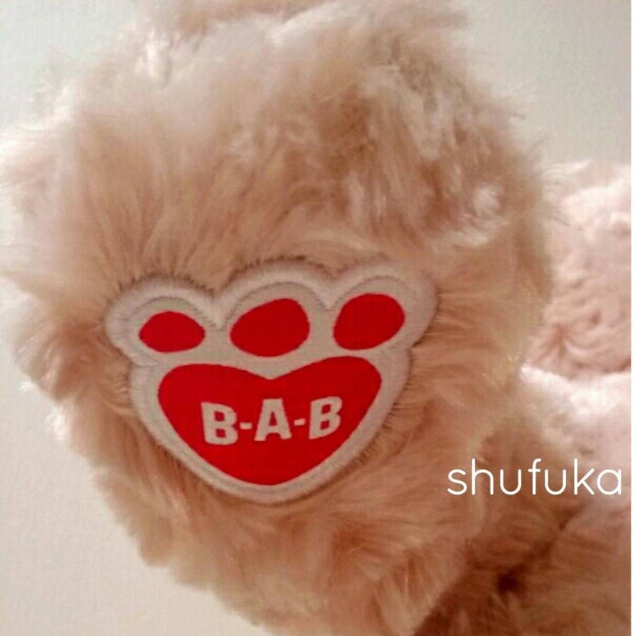 ビルドアベア ハッピーハグ テディベア ぬいぐるみ クマ 40cm クリーム 出生証明書付き ライトブラウン くま Happy Hugs Teddy Build A Bear|shu-fu-ka|03