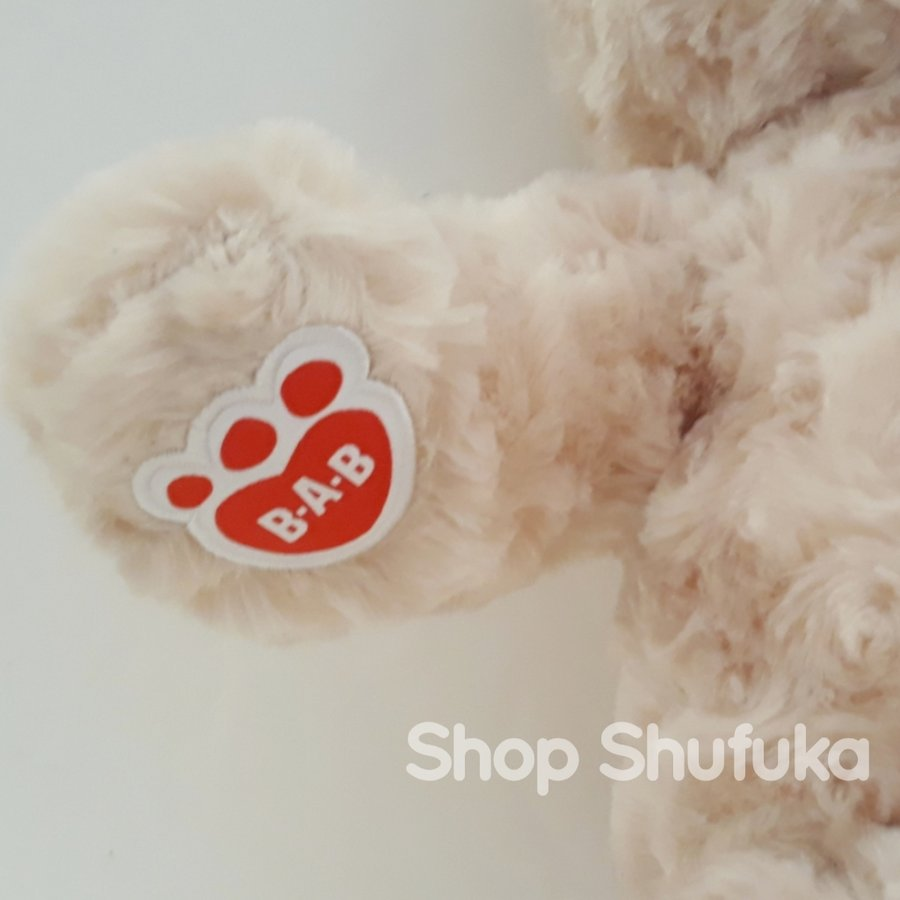 ビルドアベア ハッピーハグ テディベア ぬいぐるみ クマ 40cm クリーム 出生証明書付き ライトブラウン くま Happy Hugs Teddy Build A Bear|shu-fu-ka|04