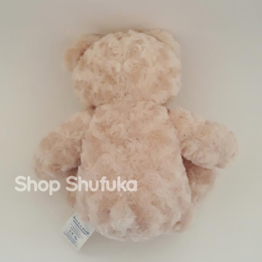 ビルドアベア ハッピーハグ テディベア ぬいぐるみ クマ 40cm クリーム 出生証明書付き ライトブラウン くま Happy Hugs Teddy Build A Bear|shu-fu-ka|08