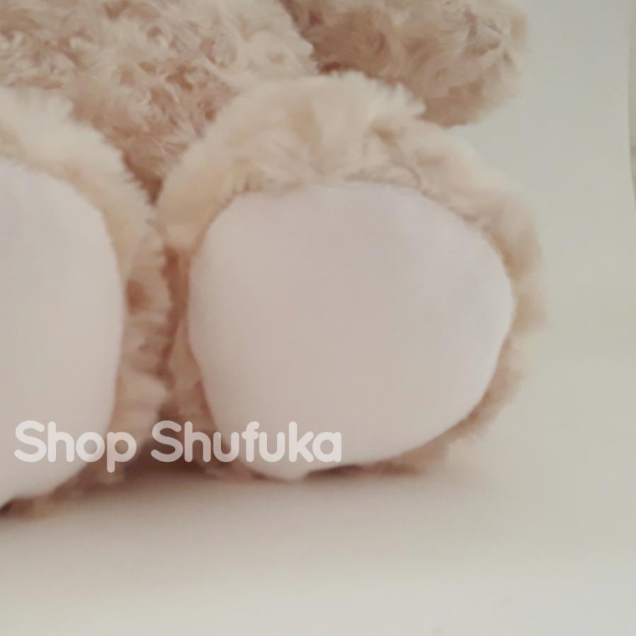 ビルドアベア ハッピーハグ テディベア ぬいぐるみ クマ 40cm クリーム 出生証明書付き ライトブラウン くま Happy Hugs Teddy Build A Bear|shu-fu-ka|09