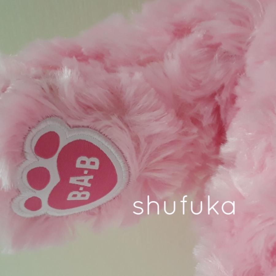 ビルドアベア テディベア ぬいぐるみ ピンク クマ Pink Cuddles Teddy 40cm 出生証明書付き 日本未発売 アメリカ購入 Build A Bear Work Shop shu-fu-ka 03