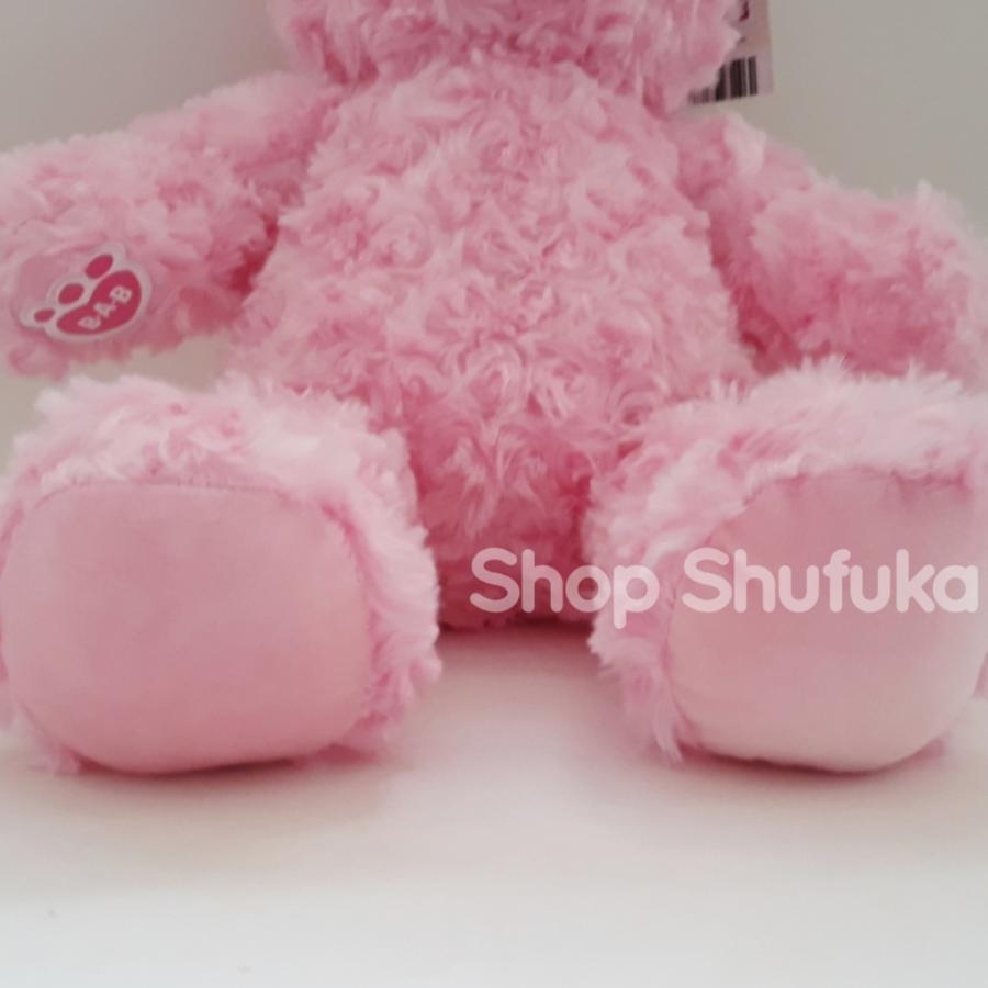 ビルドアベア テディベア ぬいぐるみ ピンク クマ Pink Cuddles Teddy 40cm 出生証明書付き 日本未発売 アメリカ購入 Build A Bear Work Shop shu-fu-ka 07