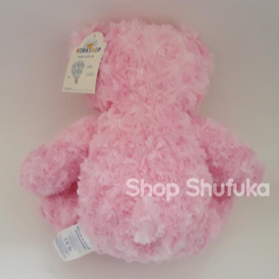 ビルドアベア テディベア ぬいぐるみ ピンク クマ Pink Cuddles Teddy 40cm 出生証明書付き 日本未発売 アメリカ購入 Build A Bear Work Shop shu-fu-ka 08