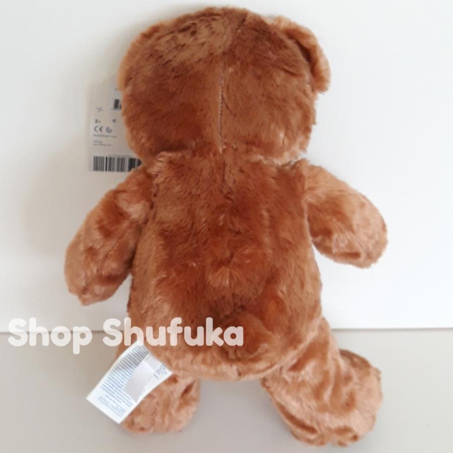 ビルドアベア アラジン ぬいぐるみ ディズニー 40cm 茶色 ブラウン 日本未発売  Build A Bear Work Shop Disney Aladdin Inspired Bear shu-fu-ka 05