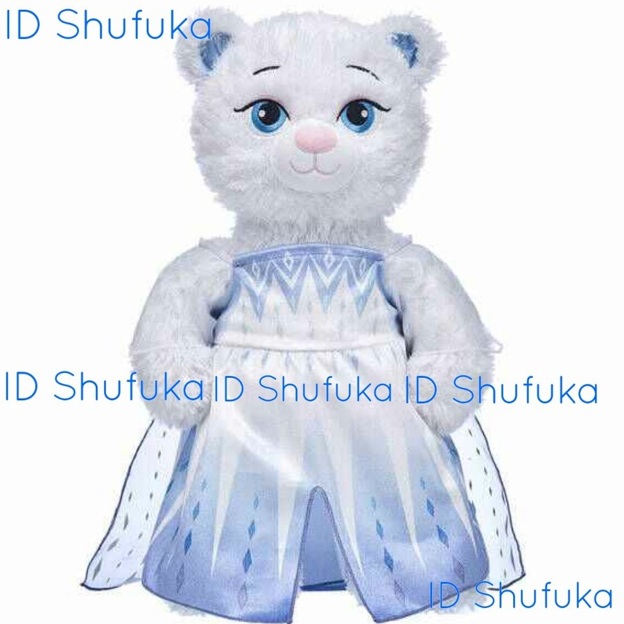 ビルドアベア エルサ ドレス アナと雪の女王2 コスプレ ディズニー シェリーメイ くま 仮装 ぬいぐるみ ハロウィン Elasa Snow Queen Build A Bear|shu-fu-ka|06
