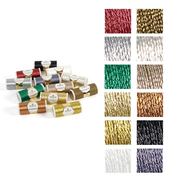 刺繍 人気上昇中 刺しゅう糸 DMC Diamant ディアマント 単品 メタリック糸 おすすめ特集
