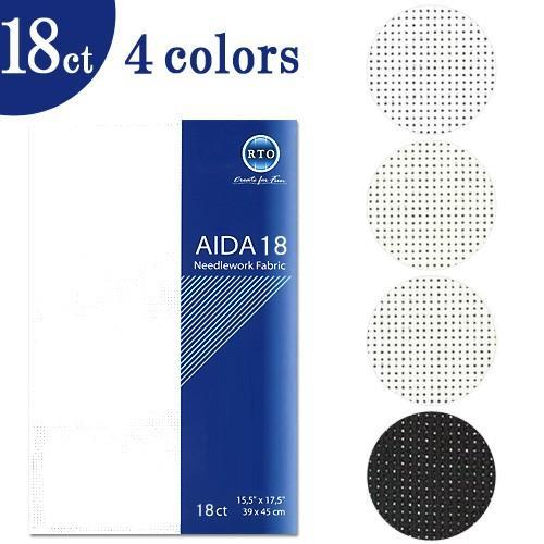 刺繍 刺しゅう布 お中元 RTO AIDA Needlework 18ct 70%OFFアウトレット