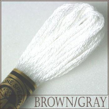 価格 交渉 送料無料 刺繍 刺しゅう糸 DMC 25番 ブラウン グレー系 売り込み 刺繍糸 DMCの糸 B5200 ディーエムシー ししゅう糸