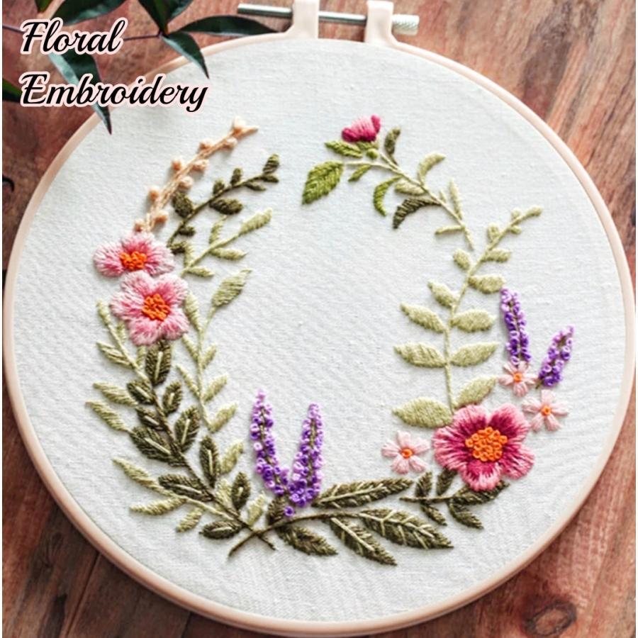 花 簡単 刺繍