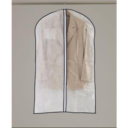 洋服カバー センターファスナーカバー半身透明 S 3枚入|shuno-su|02
