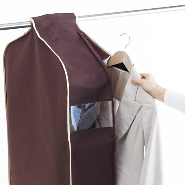 洋服カバー 4〜5枚の洋服をまとめてカバー パーソナルクローク サイズ90※欠品の為、4月上旬の発送になります|shuno-su|03