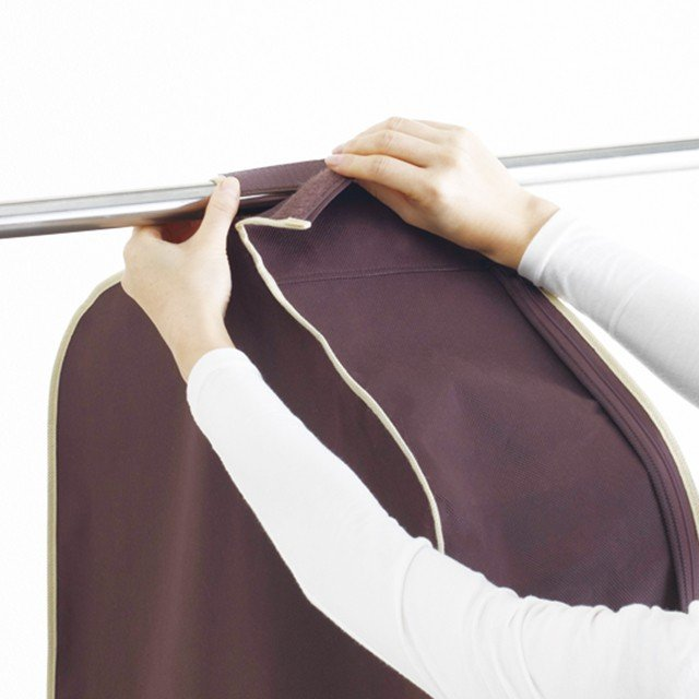 洋服カバー 4〜5枚の洋服をまとめてカバー パーソナルクローク サイズ90※欠品の為、4月上旬の発送になります|shuno-su|04