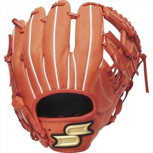 今季一番 エスエスケイ グラブ 野球 SSK 軟式プロエッジシリーズ 軟式野球グラブ 内野手用 PEN34019 33 レディッシュオレンジ, ワールドゴルフ be15e9ed