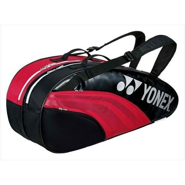ヨネックス バドミントン バッグ YONEX ラケットバッグ6 BAG1932R 053 レッド/ブラック