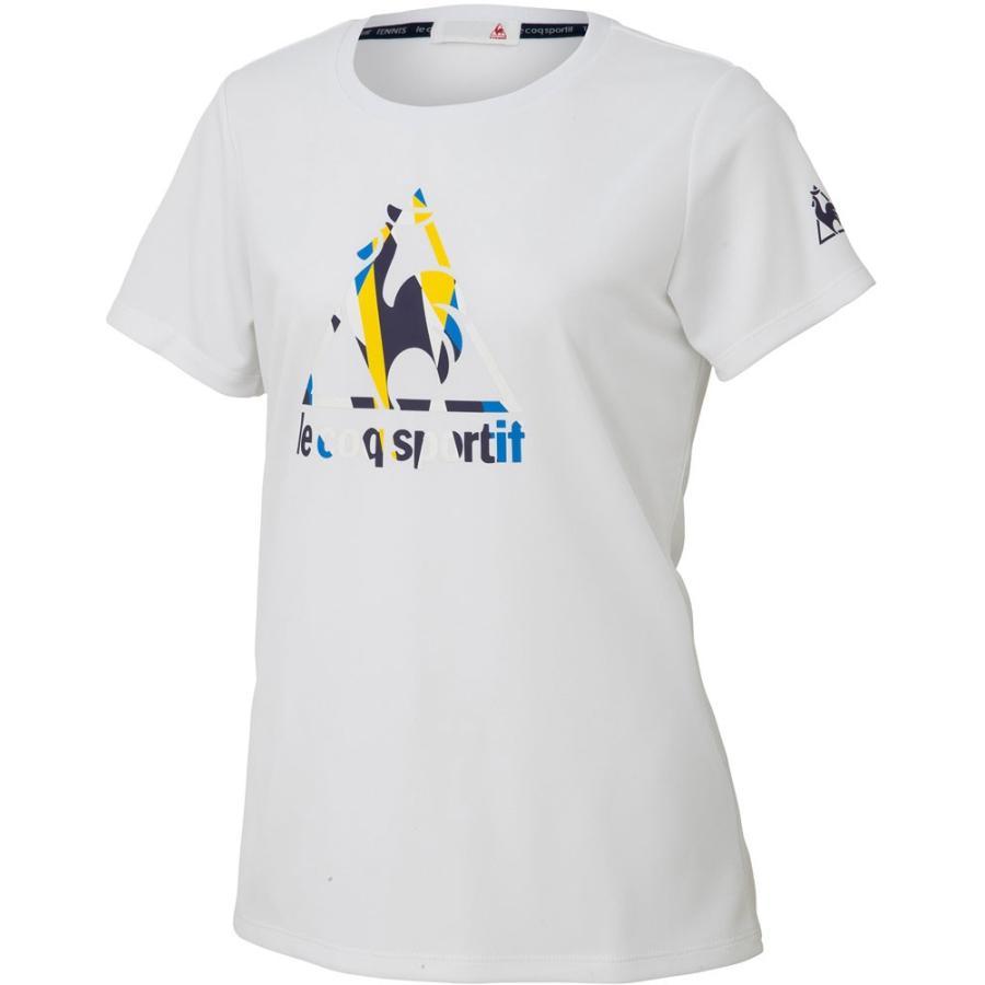 le coq sportif ルコック 半袖シャツ レディース QTWOJA01 ホワイト