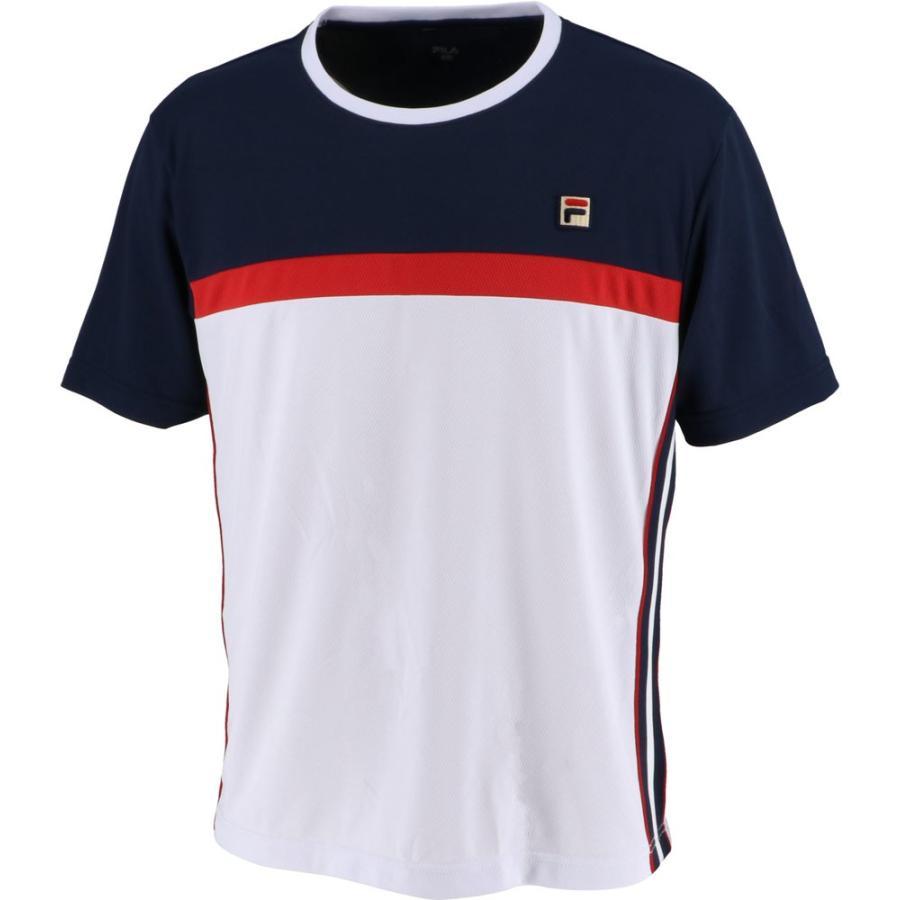 FILA フィラ ゲームシャツ メンズ VM5433 ホワイト