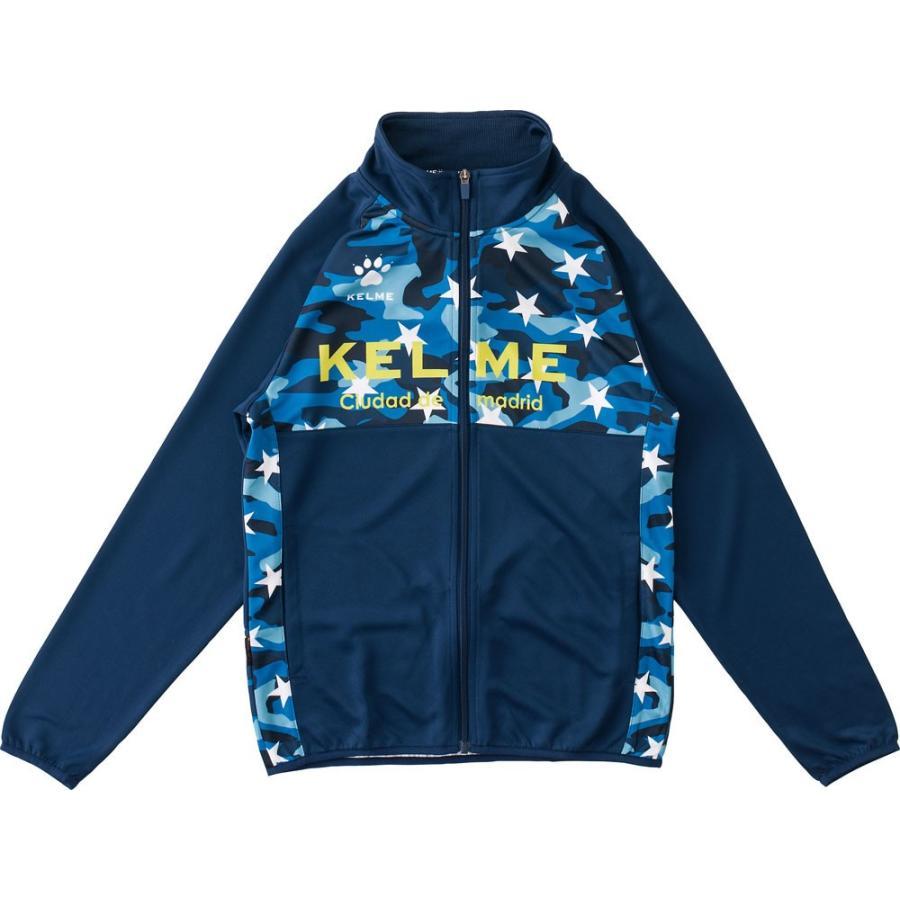 KELME ケレメ サッカー・フットサルウェア ジュニアウォームアップジャケット KJ18F168 ネイビー