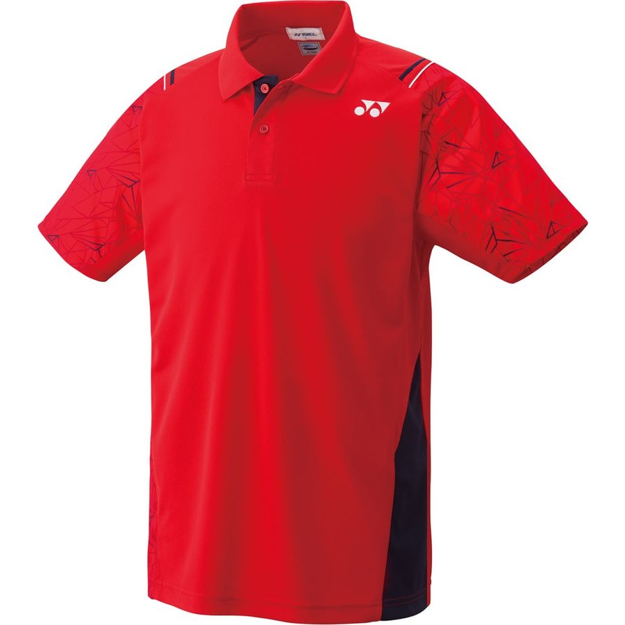 Yonex ヨネックス 男女兼用 テニスウェア UNI ポロシャツ 10221 サンセットレッド