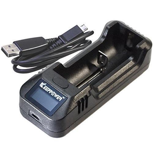 KEEPPOWER 記念日 最安値に挑戦 純正 L1 LCD 充電器単体 1A USB高速充電器 リチウムイオンバッテリー