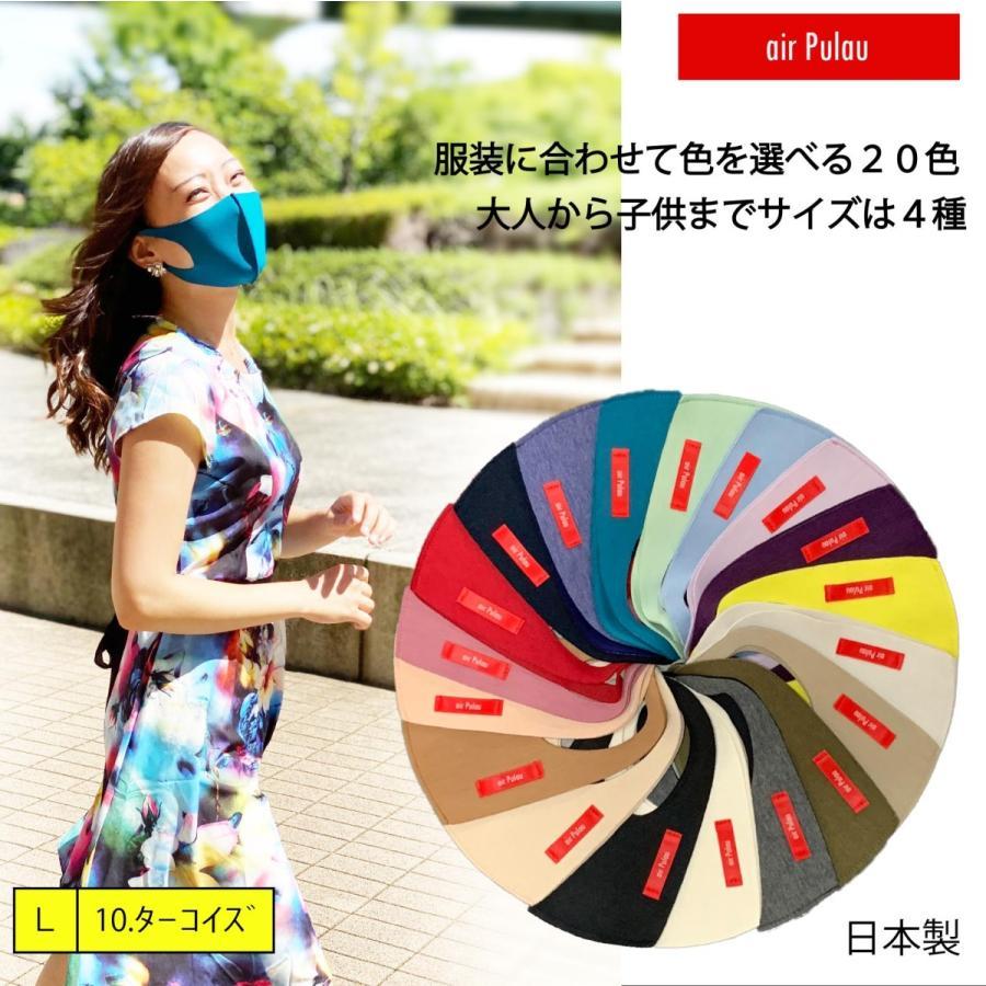 air Pulau エア-プラウ デザインマスク 日本製 side-j