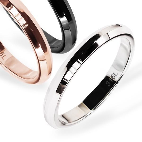 マーキュリー 指輪 ステンレス リング レディース サージカルステンレス デポー ペアリングに オンラインショップ シンプル おしゃれ ブランド