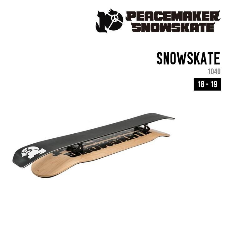高い品質 PEACEMAKER SNOWSKATE SNOWSKATE ピースメーカー ピースメーカー スノースケート 18-19 1040mm 18-19 コンプリートセット, 備前焼とグルメの店七-nana-:966cbc84 --- airmodconsu.dominiotemporario.com