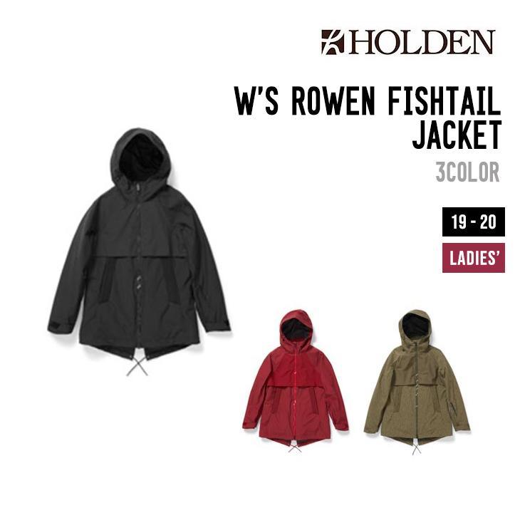 新版 HOLDEN ホールデン ジャケット ウェア FISHTAIL 19-20 W'S ROWEN フィッシュテール FISHTAIL JACKET ウィメンズ フィッシュテール ジャケット, 【激安大特価!】 :2c25aa63 --- airmodconsu.dominiotemporario.com