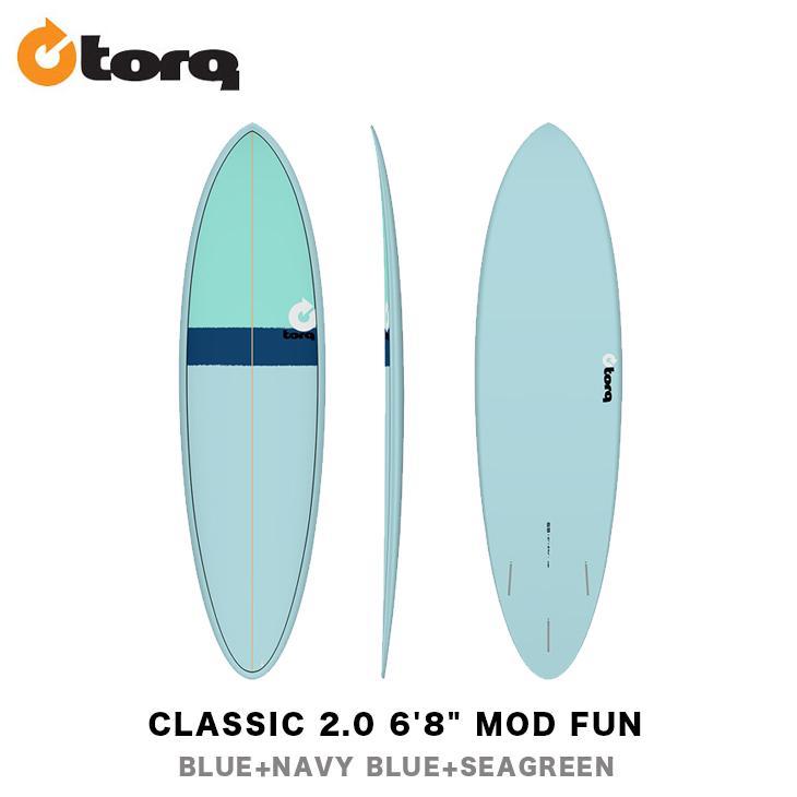 品質検査済 TORQ SURFBOARDS トルク サーフボード CLASSIC 2.0 6'8
