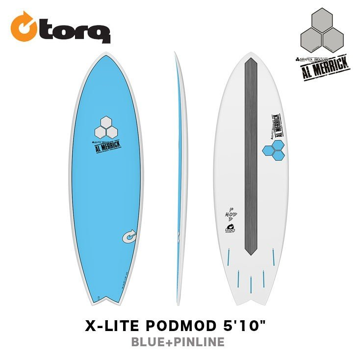 希少 黒入荷! TORQ SURFBOARDS トルク サーフボード X-LITE PODMOD 5'10