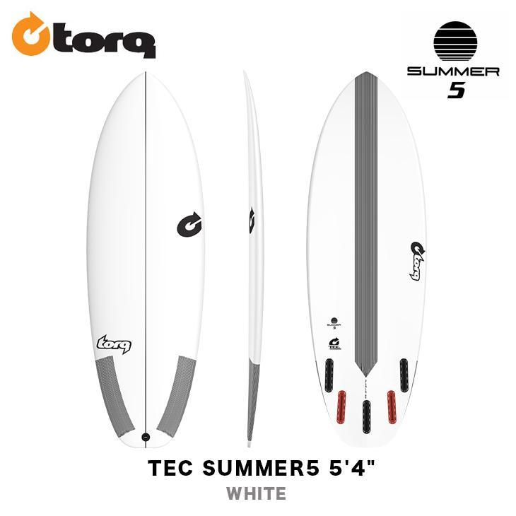 入園入学祝い TORQ SURFBOARDS トルク サーフボード TEC SUMMER5 5'4