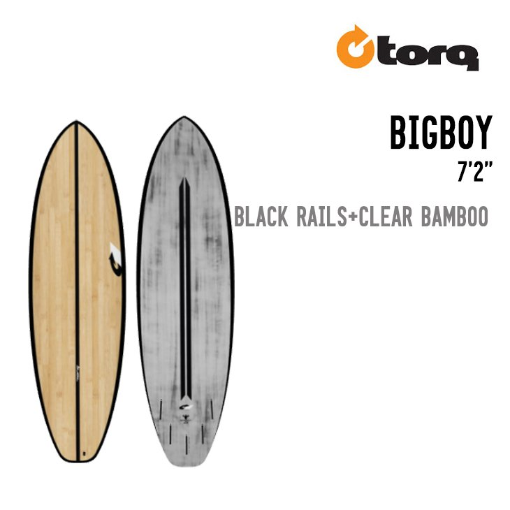 "TORQ SURFBOARDS トルク サーフボード BIGBOY 7'2"" ビッグボーイ"