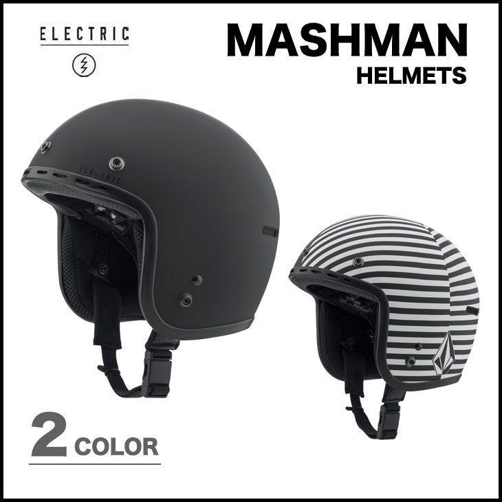 ELECTRIC ヘルメット エレクトリック 14-15 MASHMAN 各2色 GOGGLE対応 スノーボードゴーグル対応 プロテクター