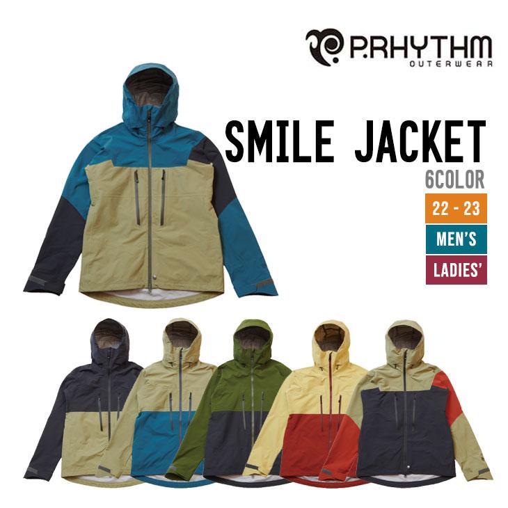 P.RHYTHM プリズム ウェア 18-19 SMILE JACKET スマイル ジャケット 5カラー