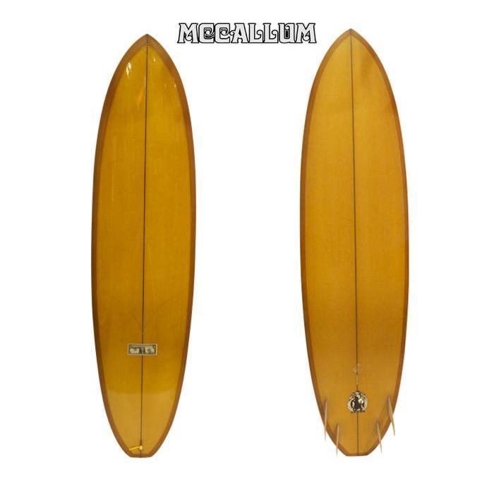 美品  MCCALLUM : SURFBOARDS マッカラムサーフボード N.O. : 7'6