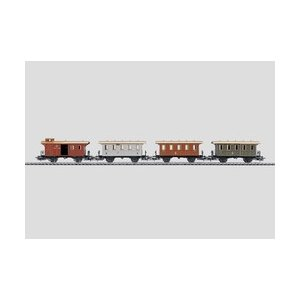 鉄道模型 HO メルクリン 4035 プルージャンパッセンジャーカーセット