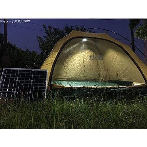 ソーラーパネル 60W 単結晶シリコン 太陽光発電 ソーラーチャージャー 蓄電 充電 自家発電 太陽光パネル ソーラー充電器 18V 高発電効率 防災 停電対策 sigen-shop 06