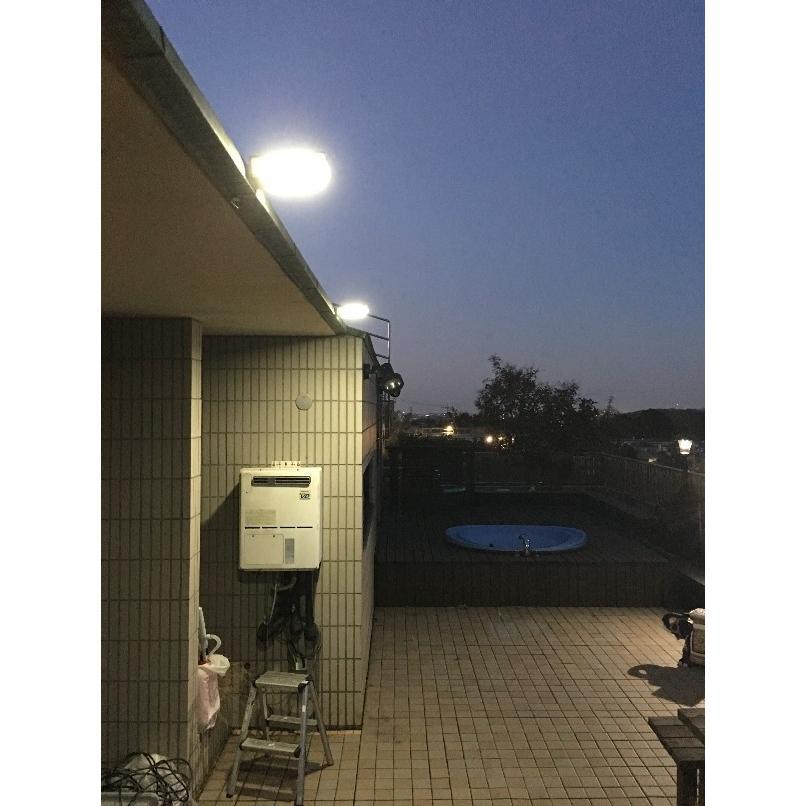 玄関灯 門灯 ソーラーLED照明 LEDライト 5W 700lm IP65 人感センサー搭載 防水 単結晶ソーラーパネル1.5W 防災グッズ 災害対策 停電 アウトドア sigen-shop 11