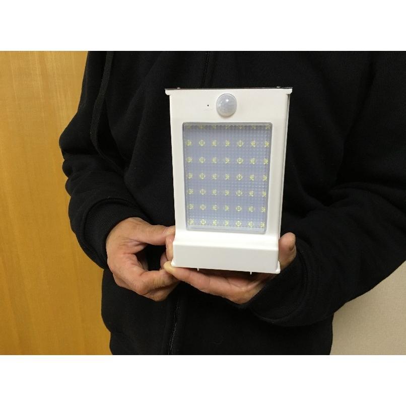 玄関灯 門灯 ソーラーLED照明 LEDライト 5W 700lm IP65 人感センサー搭載 防水 単結晶ソーラーパネル1.5W 防災グッズ 災害対策 停電 アウトドア sigen-shop 06