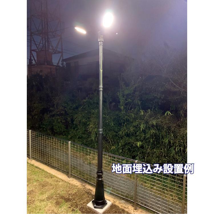 ソーラーLED照明 街路灯 外灯 ガーデンライト 20W 高さ280cm 人感センサー 一体型 ポール 屋外 自宅 庭 駐車場 防水 ヨーロピアン アンティーク|sigen-shop|17