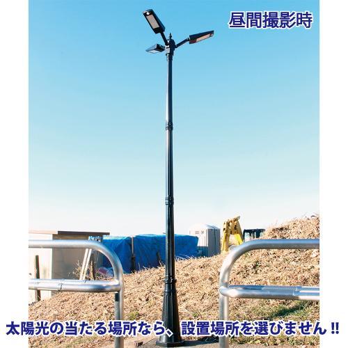 ソーラーLED照明 街路灯 外灯 ガーデンライト 20W 高さ280cm 人感センサー 一体型 ポール 屋外 自宅 庭 駐車場 防水 ヨーロピアン アンティーク|sigen-shop|04