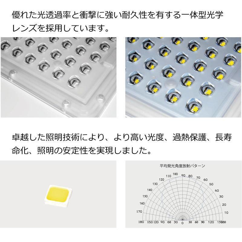 高輝度 50W 4500-5000lm LED ソーラー LED 街路灯 照明 人感センサー スマホ連動 SPARTAN-6050|sigen-shop|05