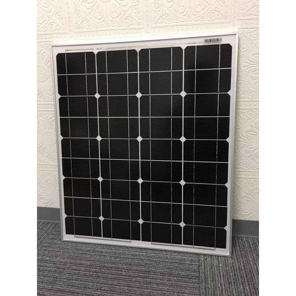 ソーラーパネル 50W 単結晶シリコン 太陽光発電 ソーラーチャージャー 蓄電 充電 自家発電 太陽光パネル ソーラー充電器 18V 高発電効率 防災 停電対策|sigen-shop