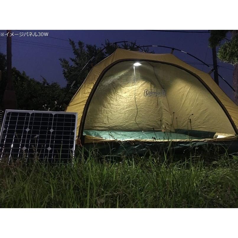 ソーラーパネル 50W 単結晶シリコン 太陽光発電 ソーラーチャージャー 蓄電 充電 自家発電 太陽光パネル ソーラー充電器 18V 高発電効率 防災 停電対策|sigen-shop|06
