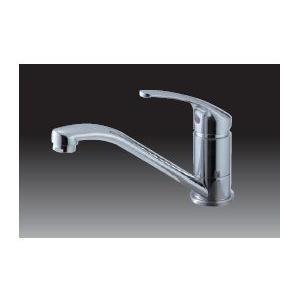 ドルフィン シングルレバー混合水栓 ニューおてがるキッチンデッキ水栓用【K87610JV-S-13】