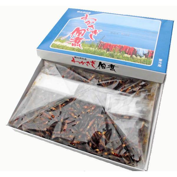わかさぎ佃煮 1kg 通販 激安 品質検査済 北海道網走湖産 ワカサギ