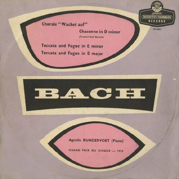 <中古LPレコード>「バッハ·リサイタル」目覚めよと呼ぶ声あり,シャコンヌ(無伴奏Vnパルティータ2番B.1004),トッカータB.912·914