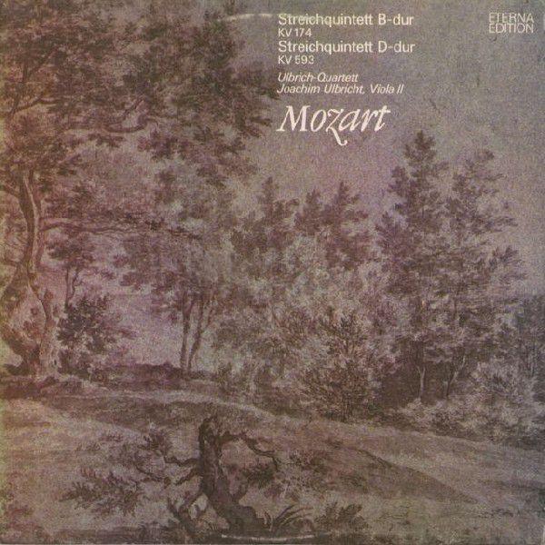 <中古LPレコード>モーツァルト:弦楽五重奏曲1·6番
