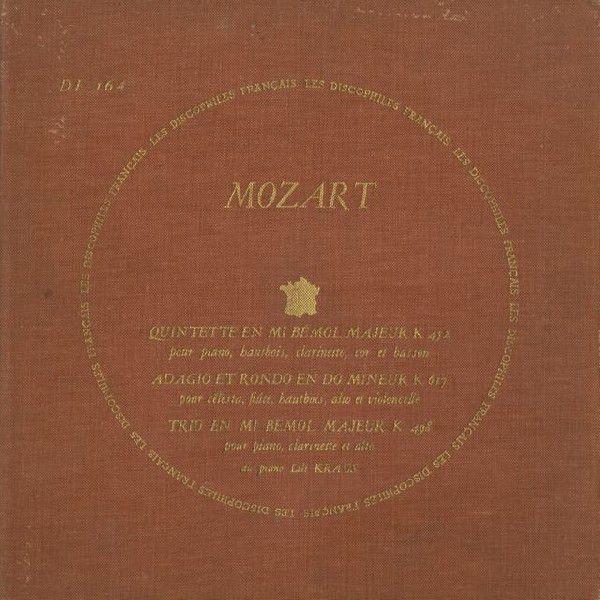 <中古LPレコード>モーツァルト:Pf·木管のための五重奏K.452, アダージョとロンドK.617,ClトリオK.498